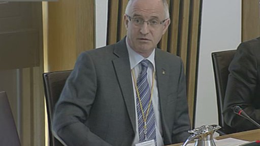 Committee convener Dave Thompson