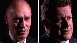 Peter Clark and John McDonald