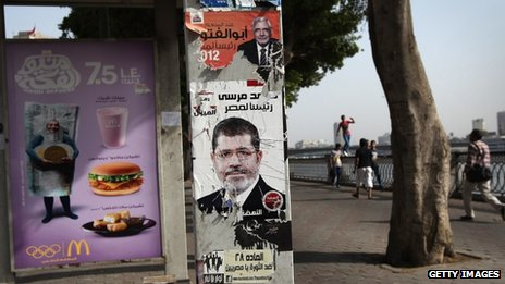 Election posters Cairo