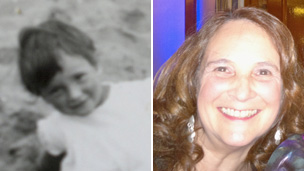 Sue Dennis then and now