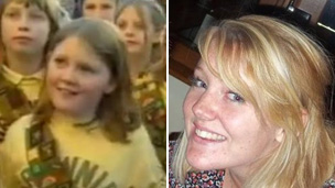 Imogen Curtis then and now