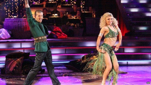 Katherine Jenkins appearing on Dancing with the Stars
