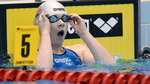 Sycerika McMahon shows her excitement after booking her Olympic place on Tuesday
