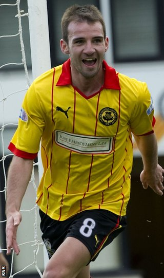 Welsh has been on loan with Partick Thistle in Division One