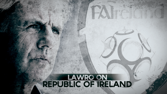 Lawro on Republic of Ireland
