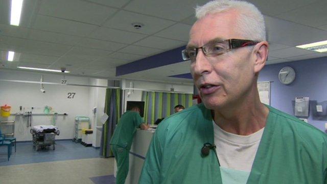 Dr Chris Brookes from Salford Royal Hospital