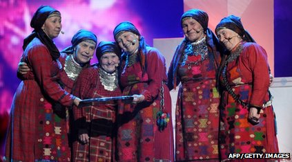 Russia's entry Buranovo Grannies