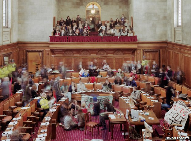 Leeds Council meeting