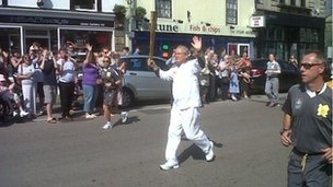 Carrying the torch in Chippenham