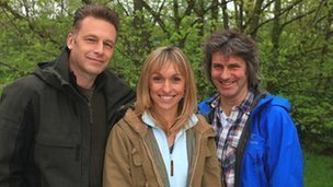 The 2012 Springwatch team