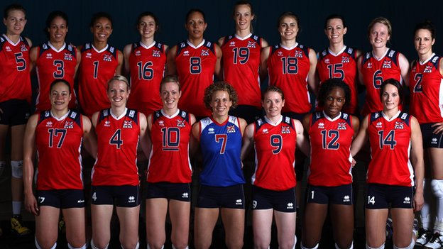 Great Britain women's volleyball team