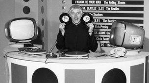 Jimmy Savile hosting the first edition of Top of the Pops