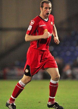 Crewe captain David Artell