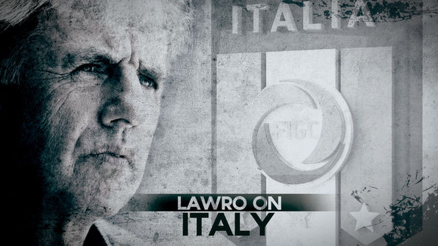 Lawro on Italy