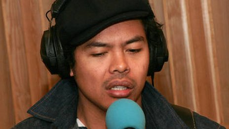 Dougy Mandagi, lead singer of Temper Trap