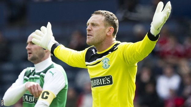 Stack has been at Easter Road since leaving Plymouth in 2009