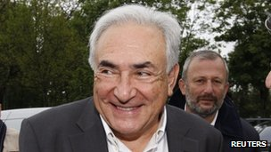 Dominique Strauss-Kahn, 7 May 2012