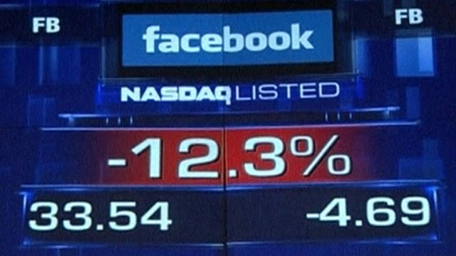 Facebook listing on Nasdaq