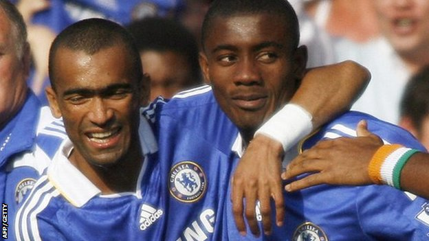 Jose Bosingwa and Salomon Kalou