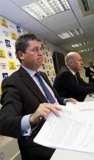 David Whitehouse and Paul Clark were appointed administrators in February