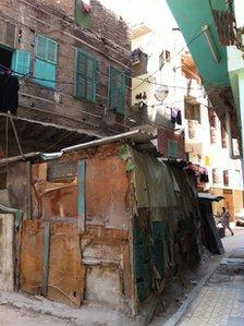 Slum in Alexandria