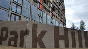 Park Hill flats in Sheffield, South Yorkshire