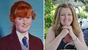 Paula McIlwaine then and now