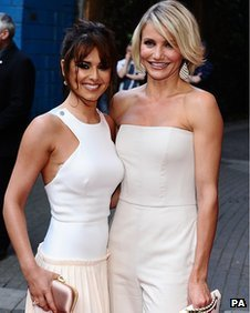 Cheryl Cole and Cameron Diaz