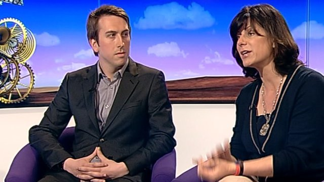 Nick Pickles and Claire Perry