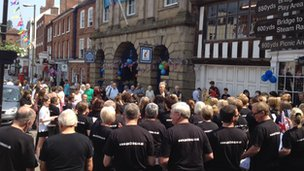 The choir in Bewdley