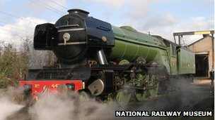 'Flying Scotsman' engine