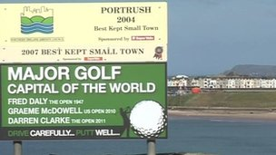 The Irish Open tees off in Portrush in June