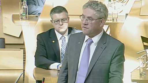 SNP MSP Kenneth Gibson led the debate