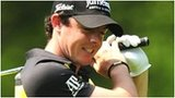 Rory McIlroy shows his frustration in the first round