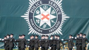 PSNI Recruits