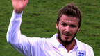 VIDEO: Archive: Beckham's England highs & lows