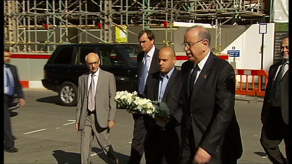 Libya's interim Prime Minister Abdurrahim El-Keib
