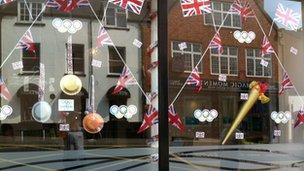 Abergavenny shop front