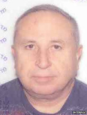 Photo of Moshe Harel on Interpol alert