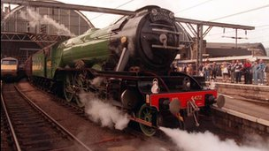 Flying Scotsman train