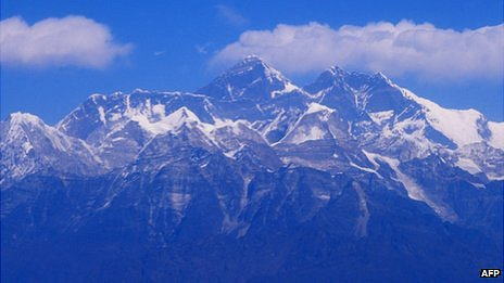 View of Everest - file pic