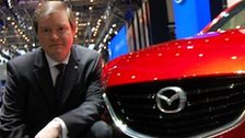 Jeff Guyton, chief executive, Mazda Motor Europe