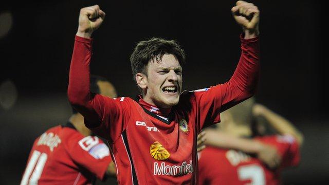 Crewe's Matt Tottle