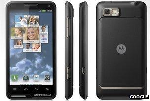 Motorola's Moto Luxe phone