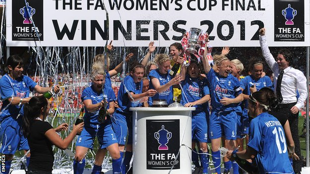 Birmingham lift the FA Women's Cup