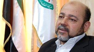 Musa Abu Marzuk from Hamas