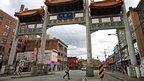 Millennium Arch in Chinatown