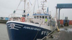 Jubilee Spirit at Grimsby