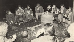 Around the campfire: Christmas Eve 1982