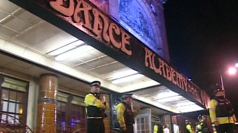 Dance Academy police raid, 2006